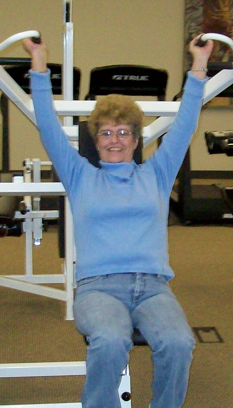 Mom at the gym